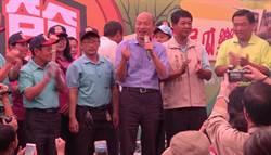影》韓流人氣持續蔓延 韓國瑜出席杉林瓜瓜節被熱情民眾包圍