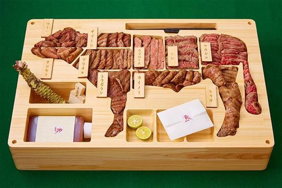 日本鳥取縣政府跟業者去年合作推出要價近8萬台幣的鳥取和牛便當,為世界第一貴的便當。(圖/業者網站gochikuru.com)