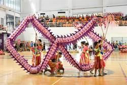 民俗體育競賽 外垵國小舞龍奪4連霸