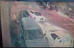 倒車撞BMW下車看沒事 女落跑遭逮