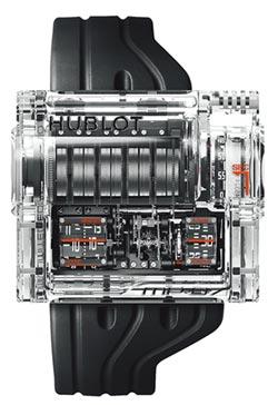 Hublot發條盒變法拉利引擎