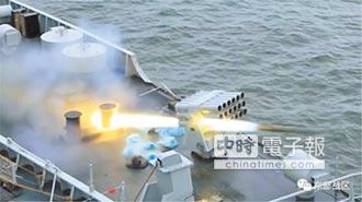 對台演練 071型龍虎山艦東海首秀