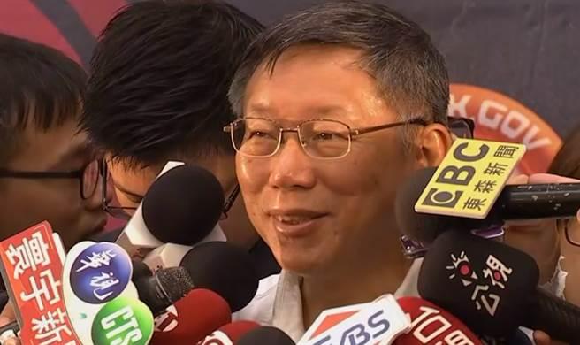 ▲台北市長柯文哲表示將會「北高合作」。(圖/取自中天新聞CH52)
