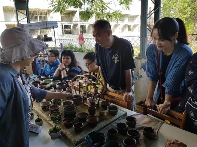 後壁高中陶藝祭2日現場展出3成捐給後壁高中文教基金會