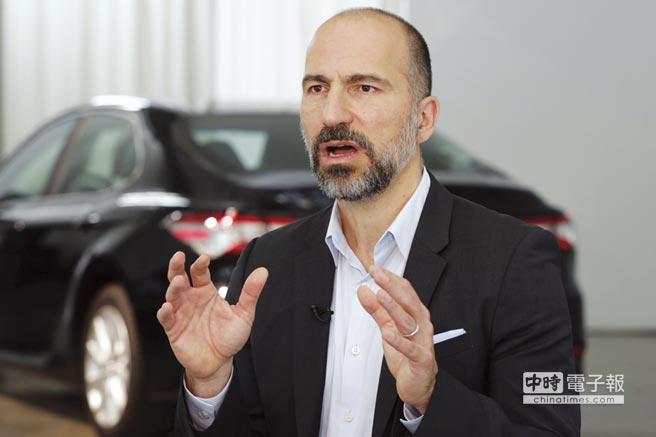 Uber新任執行長科斯羅薩西,外界認為他謙卑    又務實。圖╱美聯社
