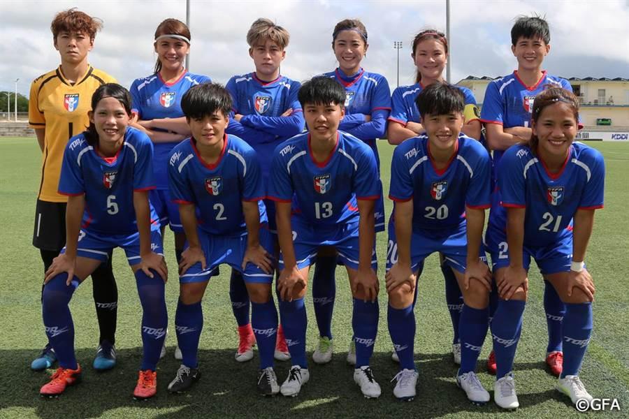 中華女足東亞盃戰香港先發11人。(東亞足聯官網翻攝)