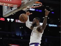 NBA》比賽沒結束提前慶祝勝利 詹姆斯不給對手面子