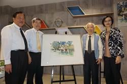 88歲國寶畫家孫少英 彩筆譜繪台中舊城