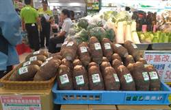 吃在地、食當季 「大安葱、大安溪芋頭」進軍楓康超市