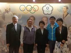 盧秀燕拜會中華奧會 獲支持復辦東亞青運