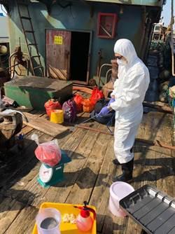陸越界漁船遭海巡艦攔下 船上驚見可疑豬肉4.8公斤