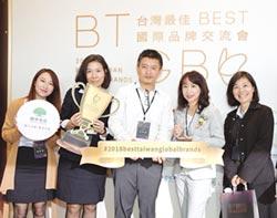 台灣20大國際品牌 國泰金獲第六名