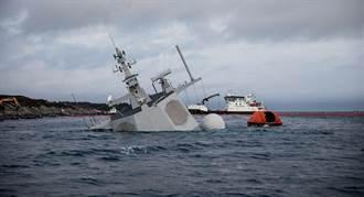 挪威神盾艦沉沒檢討:艦員錯認油輪當成陸地