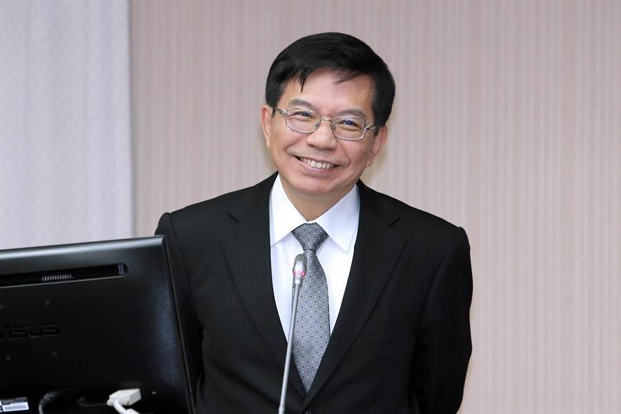 明(4日)起接任交通部代理部長的政次王國材赴立院報告並備詢。(黃世麒攝)