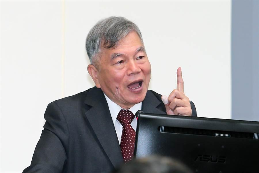 經濟部長沈榮津。(黃世麒攝)