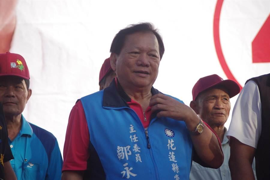 國民黨花蓮縣黨部主委鄒永宏說,本次議長選舉提名納入「排黑條款」,預計本周協調出人選。(許家寧攝)