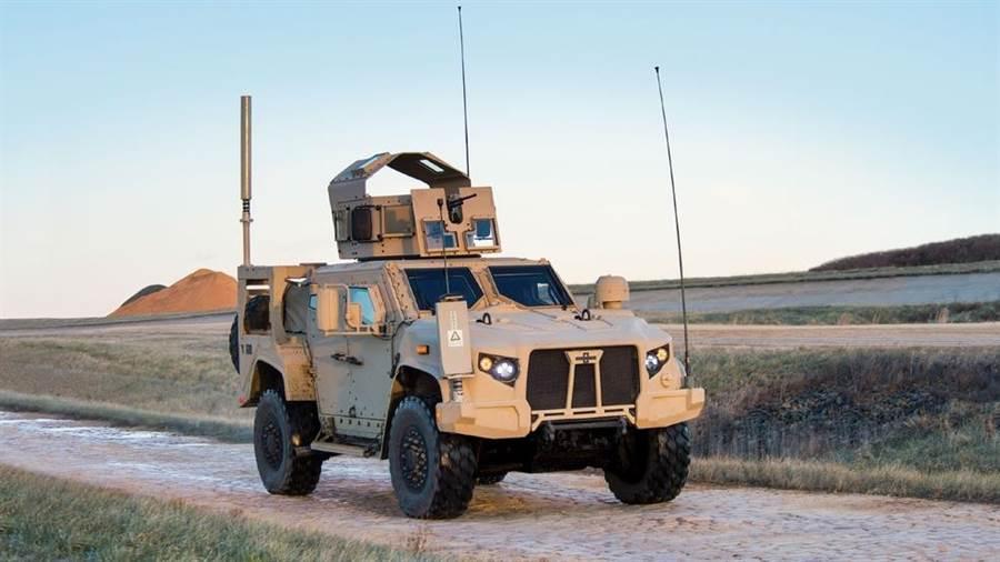 美軍最新的越野車JLTV,將會取代悍馬車。(圖/奧什科甚)