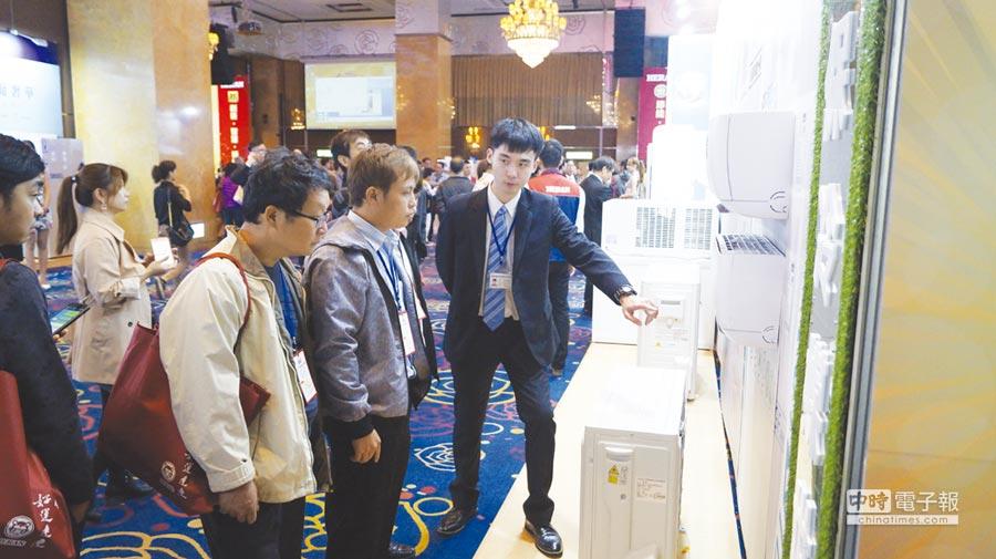 禾聯碩發表R32能效一級變頻壁掛式GF系列。圖/業者提供