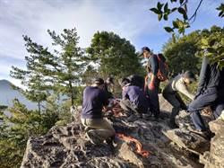 竹山男子攀登波津加山 突然昏倒命喪山林
