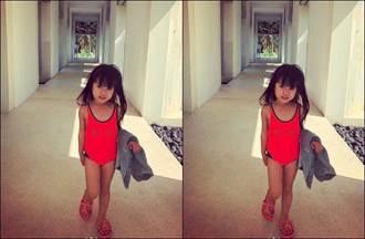方志友女兒Mia曬「連身泳衣照」根本小超模!