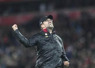 不怕疫情 利物浦教頭承諾奪冠遊行