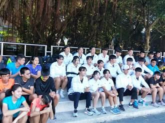 台灣卡溫暖 韓國田徑小將連續3年來台冬訓