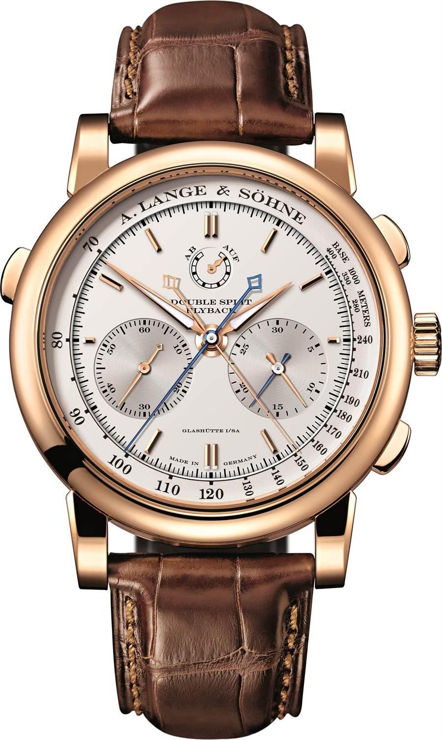 朗格Double Split雙追針腕表,394萬元。(A. Lange & Sohne提供)