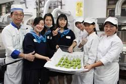 日姐妹校訪長榮女中  樂學鳳梨酥、珍奶