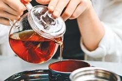 原片茶葉來自歐亞非 P&T柏林茶館吹歐風