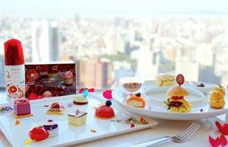 台中飯店業者與化妝品業者異業結盟推出聯名下午茶