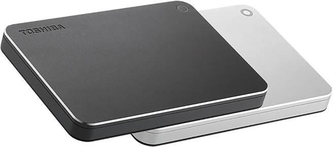 東芝推出全新4TB外接式硬碟Canvio Premium(圖/業者提供)