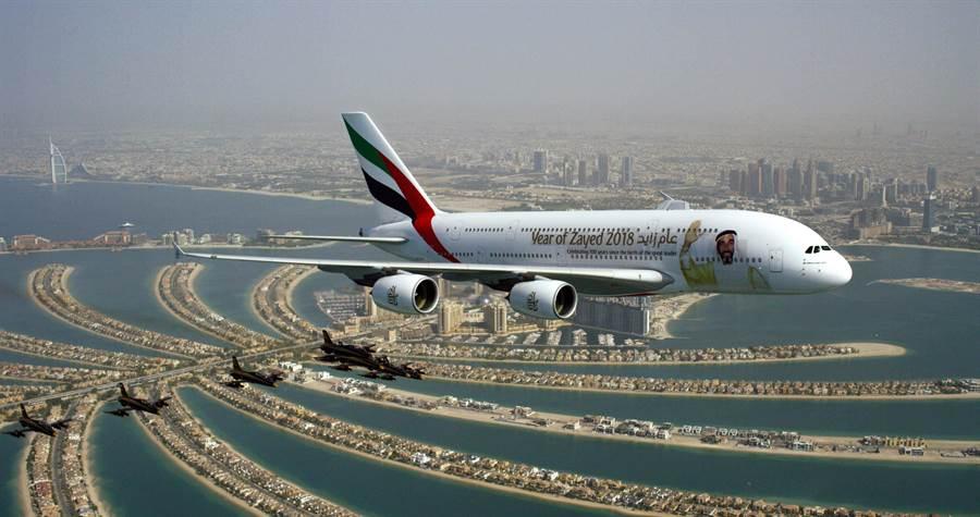 台灣旅客可以搭乘阿聯酋航空在杜拜轉機,趁機造訪這座充滿活力與繁榮的城市。圖:業者提供