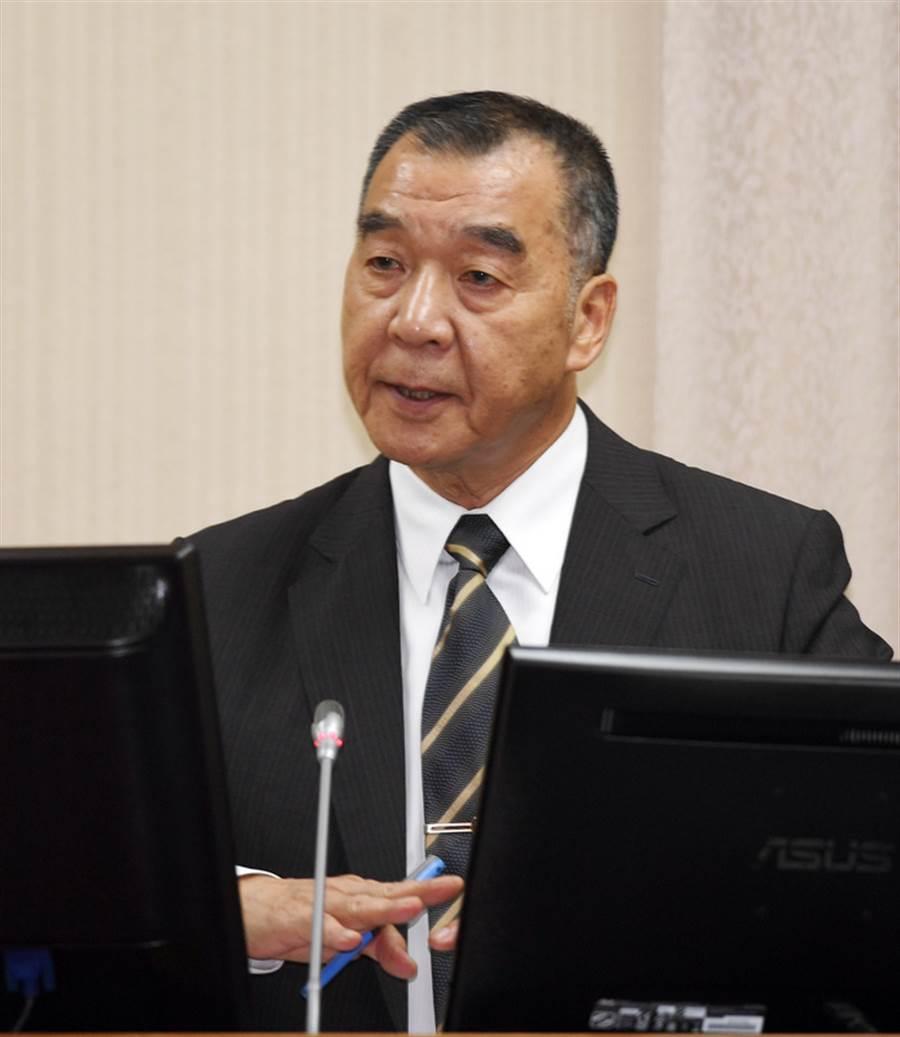 新任國安局長邱國正。〈中時資料庫〉