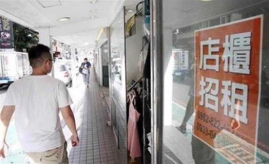 台北東區店面租金飆高,店家紛結束營業止血。(資料照片/林宜靜攝)