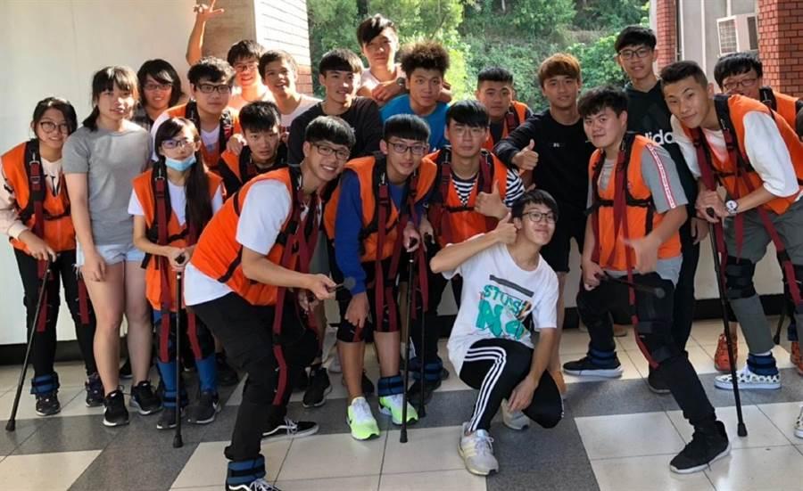 大葉大學休閒系與弘道基金會合作舉辦「彭祖體驗」活動。(鐘武達攝)