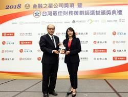 台新銀行連三年獲「財富管理最佳價值獎」