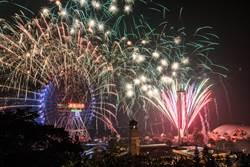 劍湖山世界攜手國寶級「金光布袋戲」連續3天施放跨年煙火秀