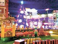 東門城 耶誕樹 打卡熱點