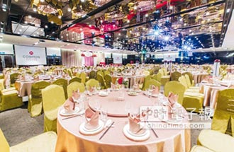 天成大飯店TICC世貿會館 3~300桌彈性宴會空間