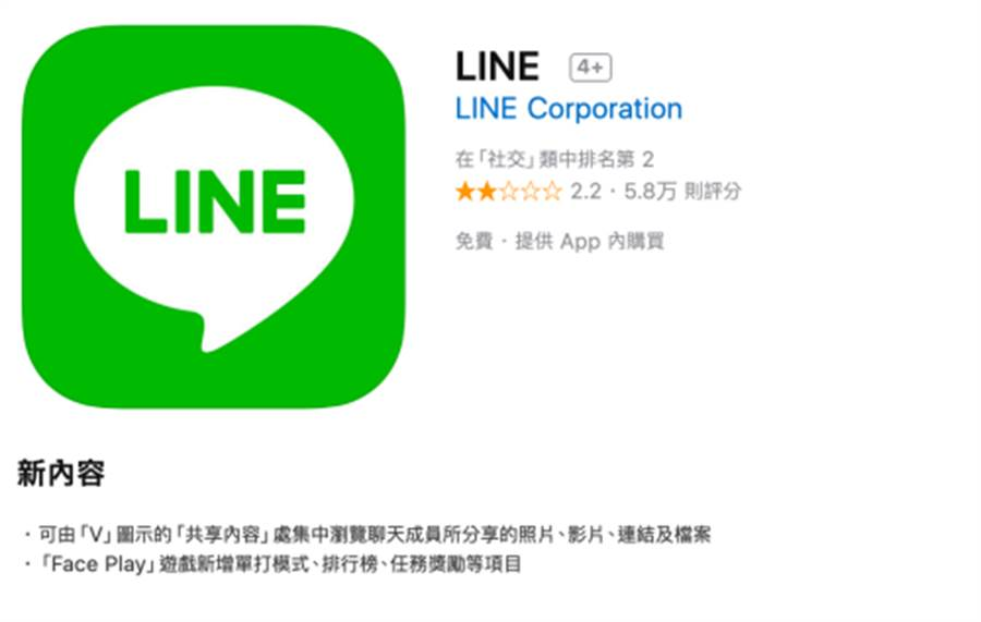 LINE iOS 率先在 8.18.0 版本中增加兩項功能,讓你快速查找共享的照片及檔案,還能一個人玩Face Play遊戲。目前這兩項功能 Android 平台都還不支援!(圖/翻攝App Store )