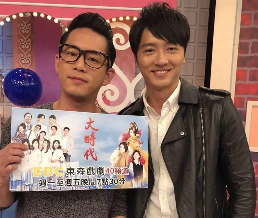 Junior透露江俊翰有可能回歸《大時代》劇組。(圖片提供:東森)