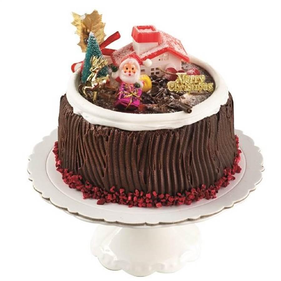 微風A1獨家順成蛋糕耶誕歡樂頌,原價550元、特價500元。(微風提供)