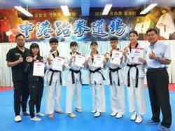 16歲跆拳道手林唯均 將打總統盃社會組