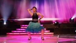 林莉跳國標軋舞技 氣勢不輸媽媽張秀卿
