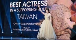 台灣唯一!楊小黎《台北歌手》新加坡奪女配角獎