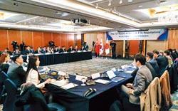 推展合作 中日韓FTA重啟談判