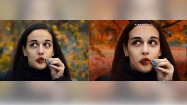 女攝影師爆料三星以單眼拍攝的照片(左)作為A8相機功能的宣傳照(右)。(圖/翻攝DIYPhotography)