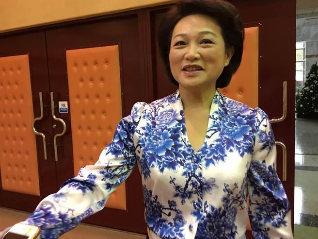 嘉義市議長蕭淑麗對涂市長擬提選舉無效之訴,不予置評。(廖素慧攝)