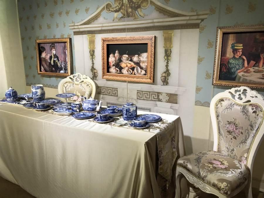 新北市坪林茶業博物館「共茗-世界茶文化之旅特展」今(7)日正式開幕,展出橫跨歐、亞、非三大洲的飲茶文化。(葉書宏翻攝)