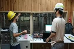 華夏科大發揮產學合作成效  為保一總隊建立智慧靶場